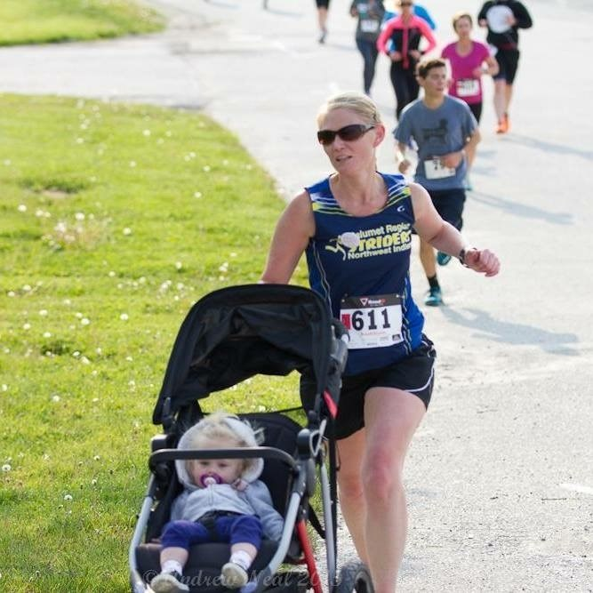 One Strong Mother Runner