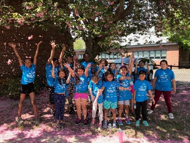 Girls on the Run at Woodrow Wilson Elementary School