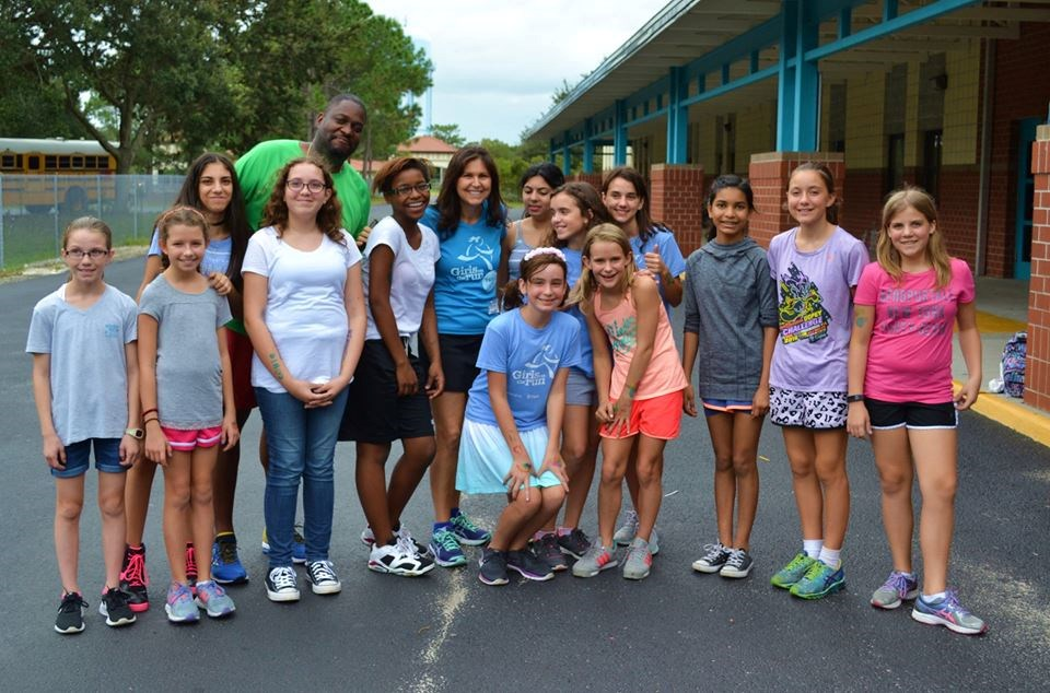 Keith & Bilinda run to Inspire girls in Orlando
