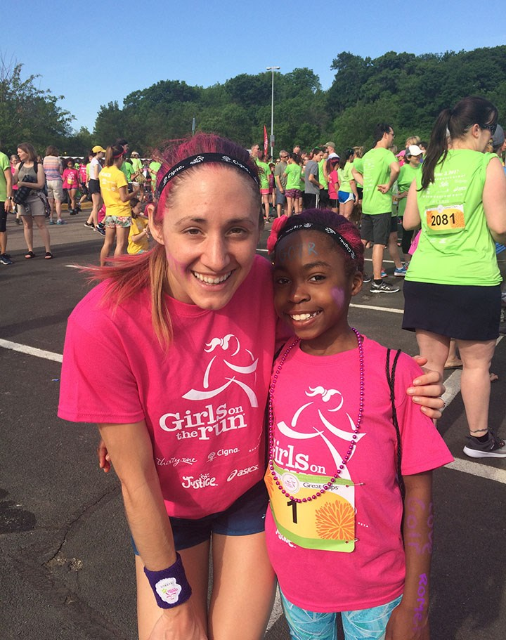 Ry Runs Zion for Girls On the Run