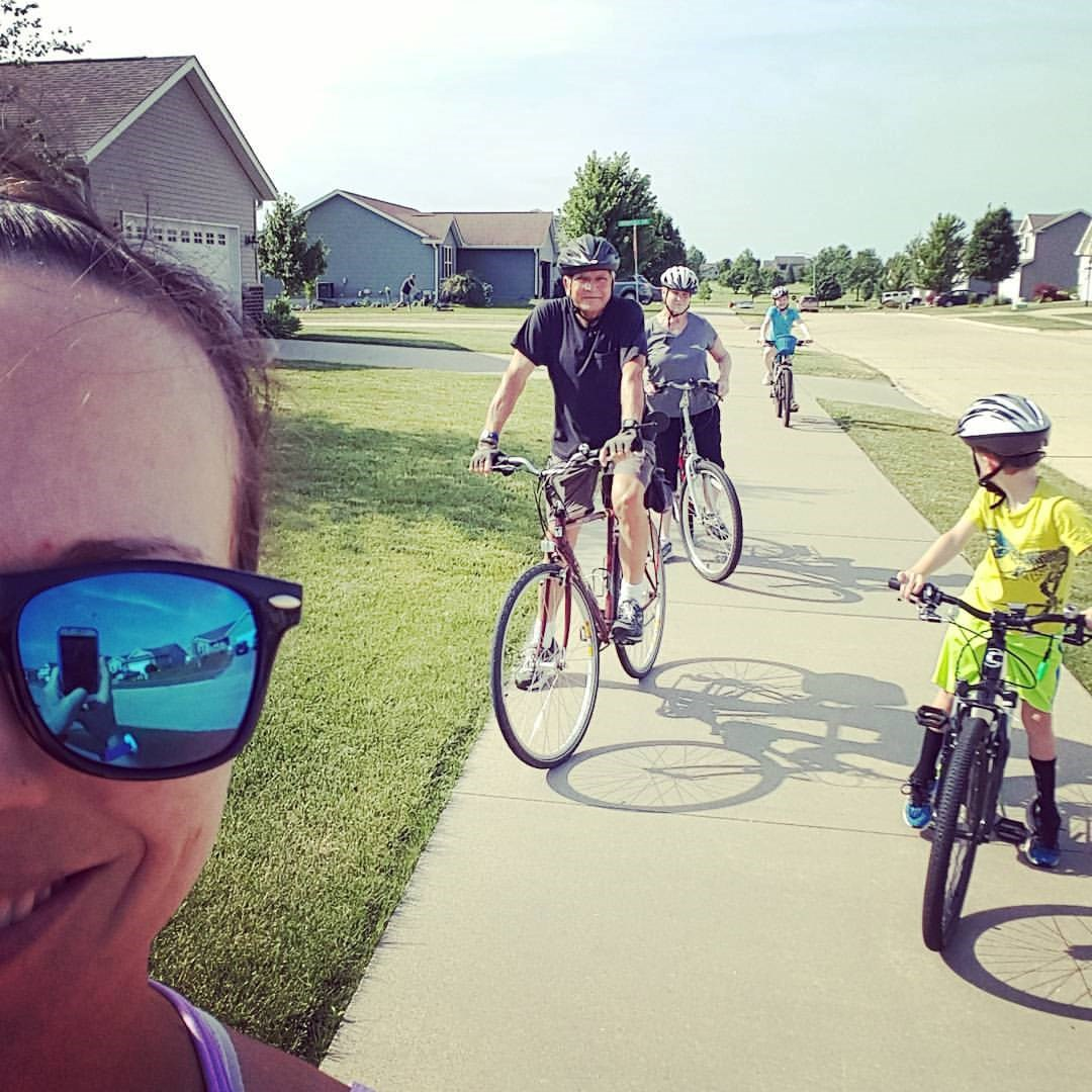 sneakers and spokes logging miles for girls on the run