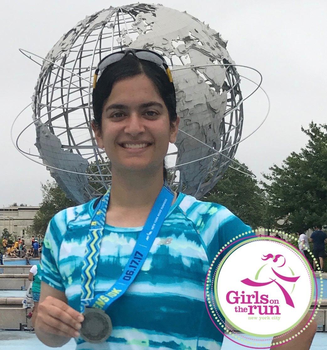 Angela's Road to the 2017 TCS NYC Marathon